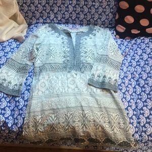 Beautiful women's shirt calypso shirt Sz xs